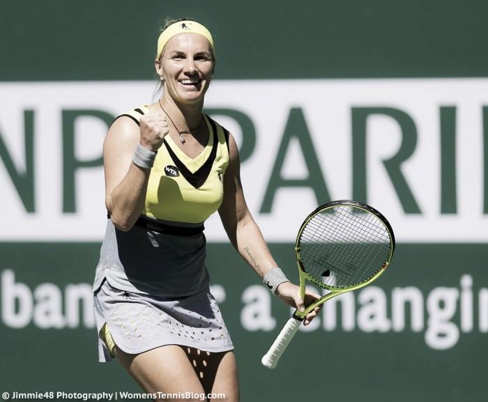 WTA Indian Wells: Svetlana Kuznetsova eases past Caroline Garcia, moves into the quarterfinals