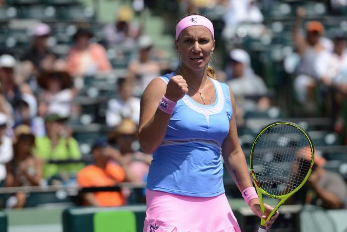 WTA Miami: Svetlana KuznetsovaDefeatsTimea Bacsinszky To Advance Into The Final