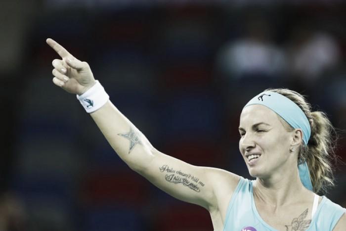 Kuznetsova se corona en Moscú