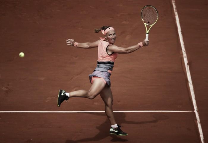 French Open: Svetlana Kuznetsova survives marathon opening round