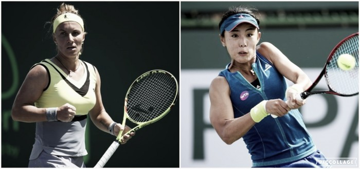 WTA Madrid third round preview: Svetlana Kuznetsova vs Wang Qiang