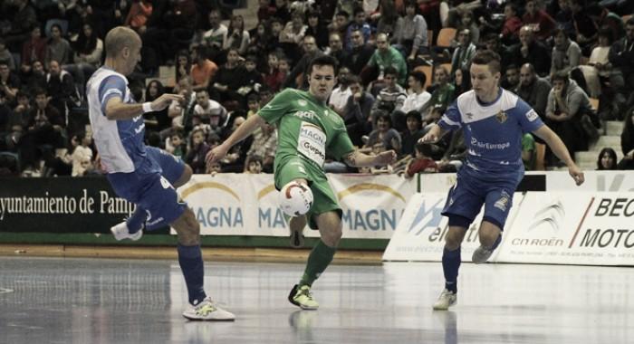 Resumen Osasuna Magna 2-3 Palma Futsal en la LNFS 2017