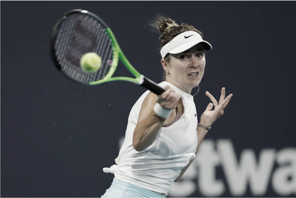 Svitolina derrota Sevastova em sets diretos e vai às semis em Miami