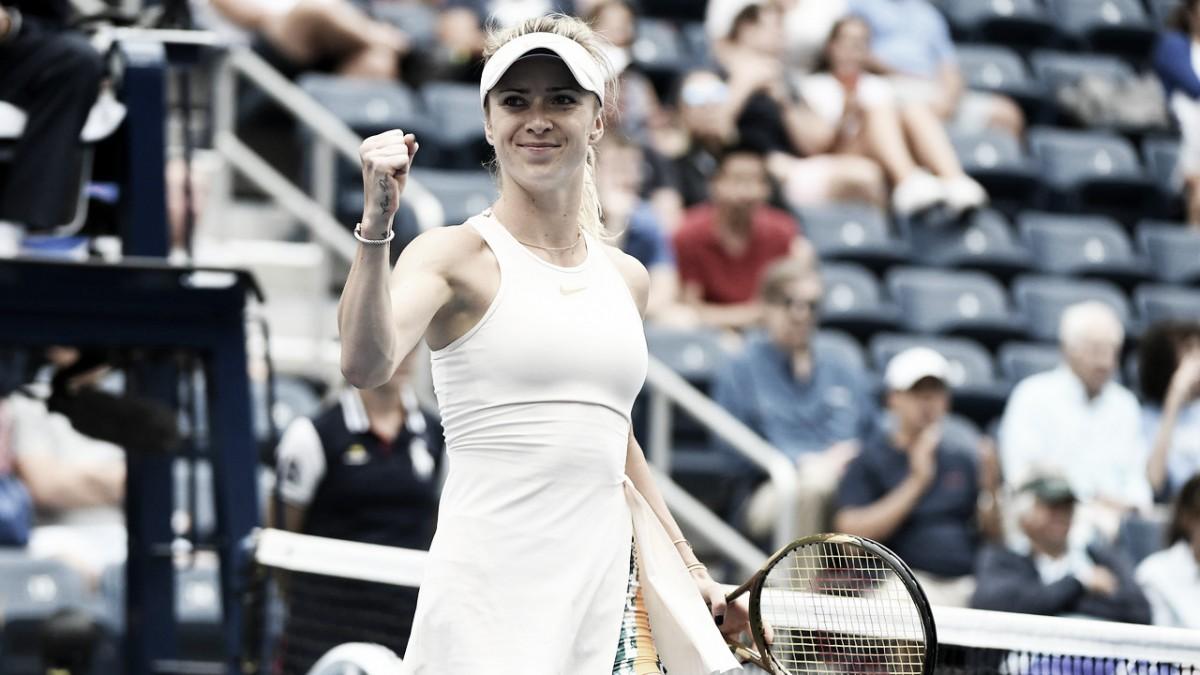 Em jogo de reviravoltas, Svitolina vence Wang e está nas oitavas do US Open