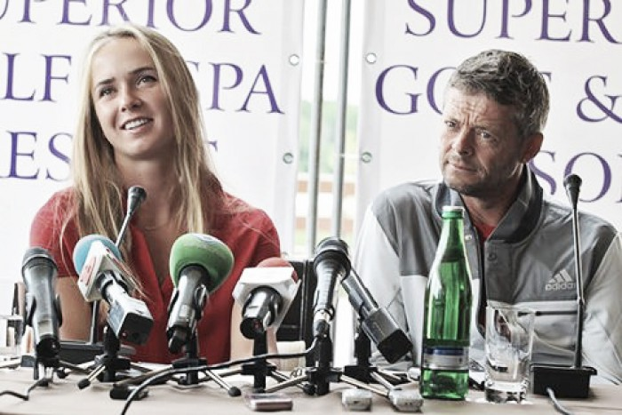 Elina Svitolina announces split from coach Iain Hughes