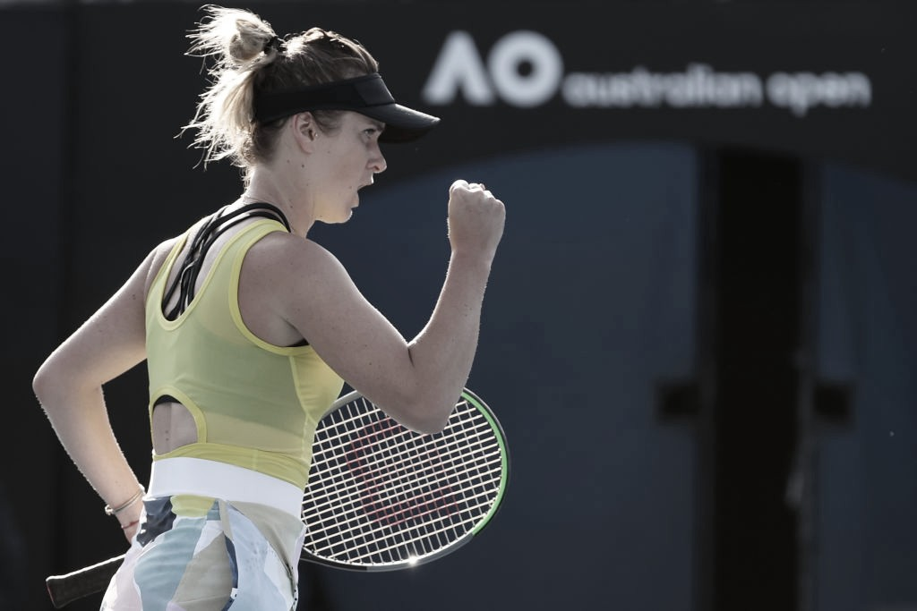 Svitolina sofre, mas supera Boulter na estreia do Australian Open