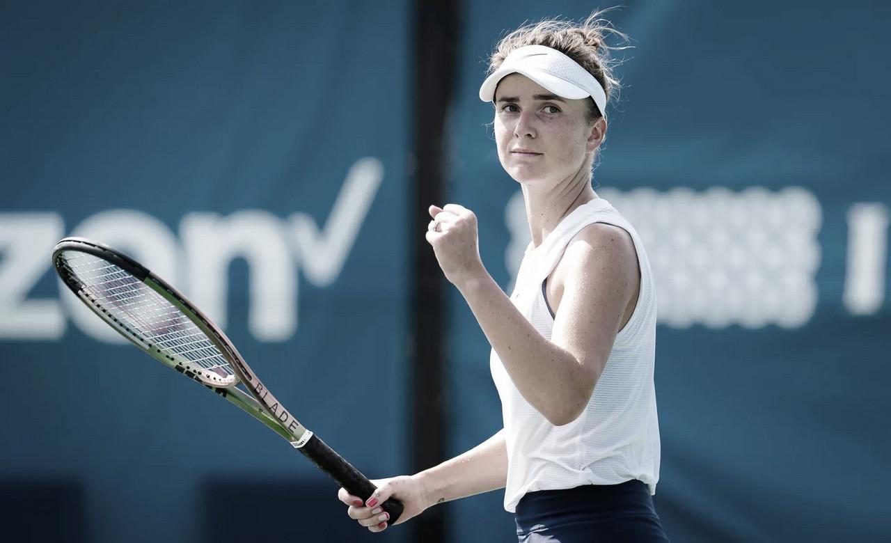Em final dramática, Svitolina supera Cornet e conquista WTA 250 de Chicago