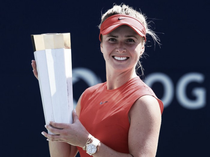 WTA Rogers Cup: Elina Svitolina powers to fifth title of 2017