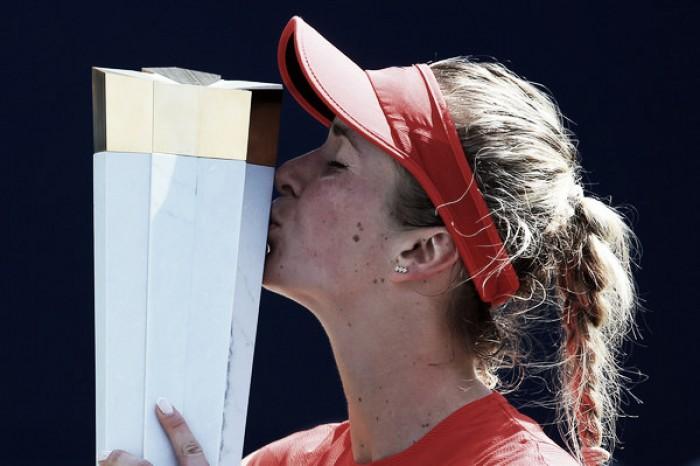 Elina Svitolina: I still have a long journey ahead of me