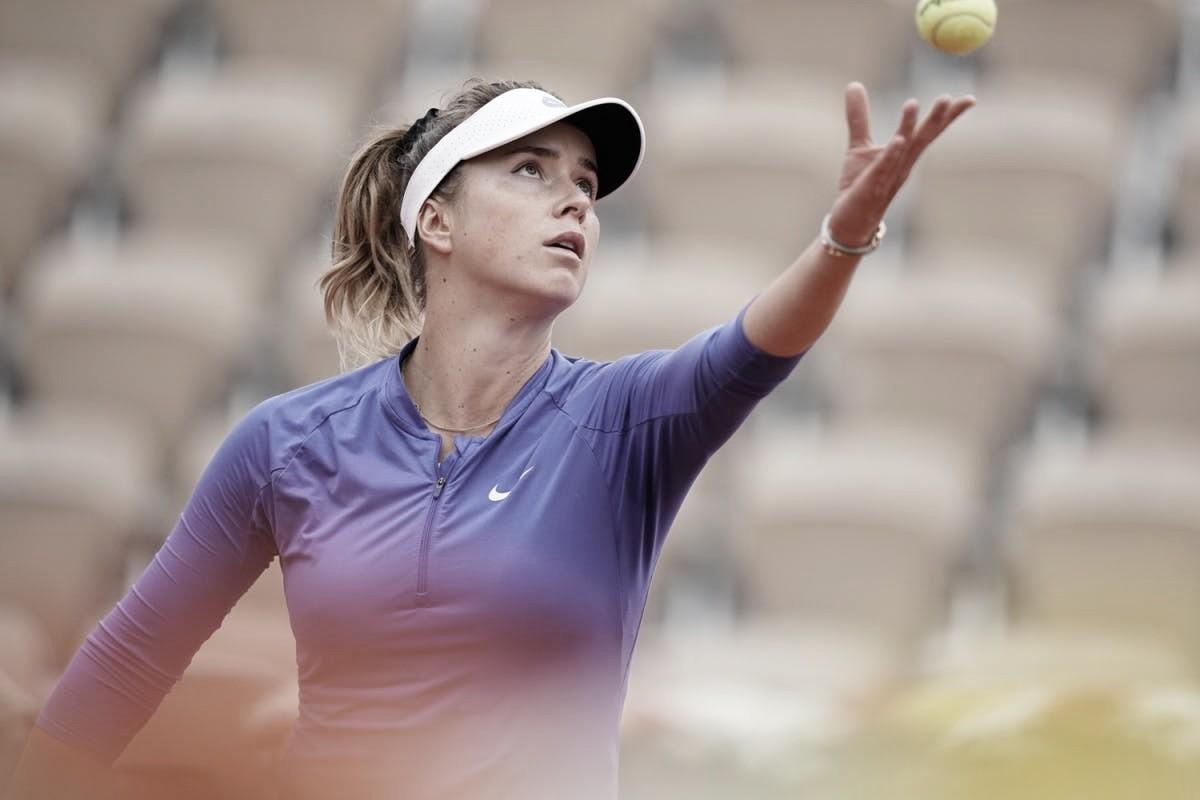 Svitolina domina Garcia e volta às quartas em Roland Garros após três anos
