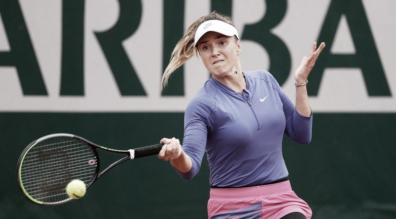 Svitolina supera estreia complicada e bate Gracheva em Roland Garros