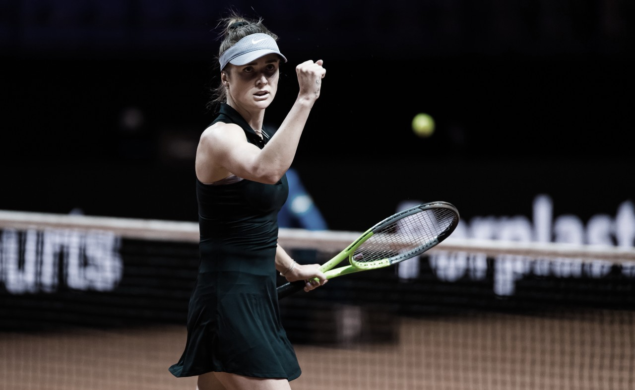 Svitolina busca virada incrível contra atual campeã Kvitova em Stuttgart; Halep segue firme