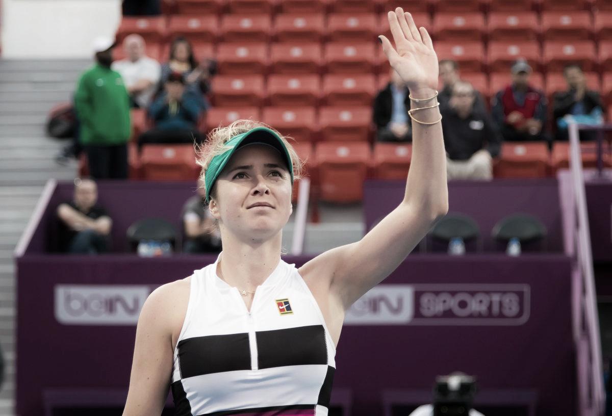 Svitolina passa fácil por Muchova e garante grande duelo contra Halep nas semifinais de Doha