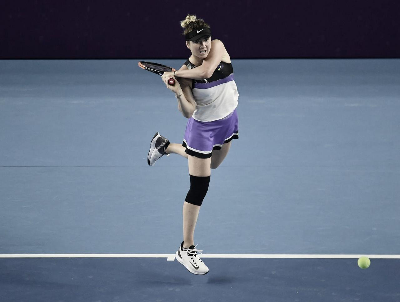 Svitolina devolve derrota de Roland Garros e elimina Muguruza em Wuhan