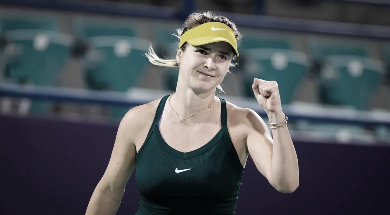Svitolina supera desafio contra Pegula na primeira rodada em Abu Dhabi