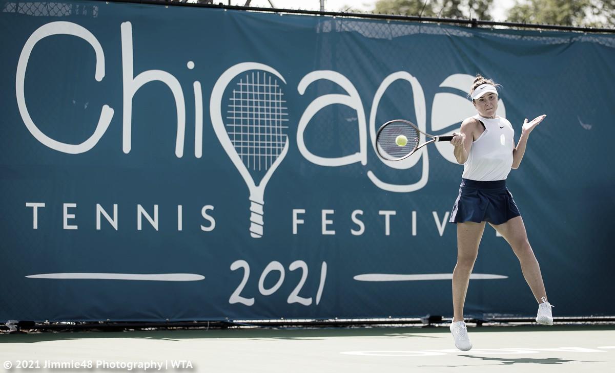 Svitolina vence jogo duro contra Peterson em Chicago e vai à primeira final no ano