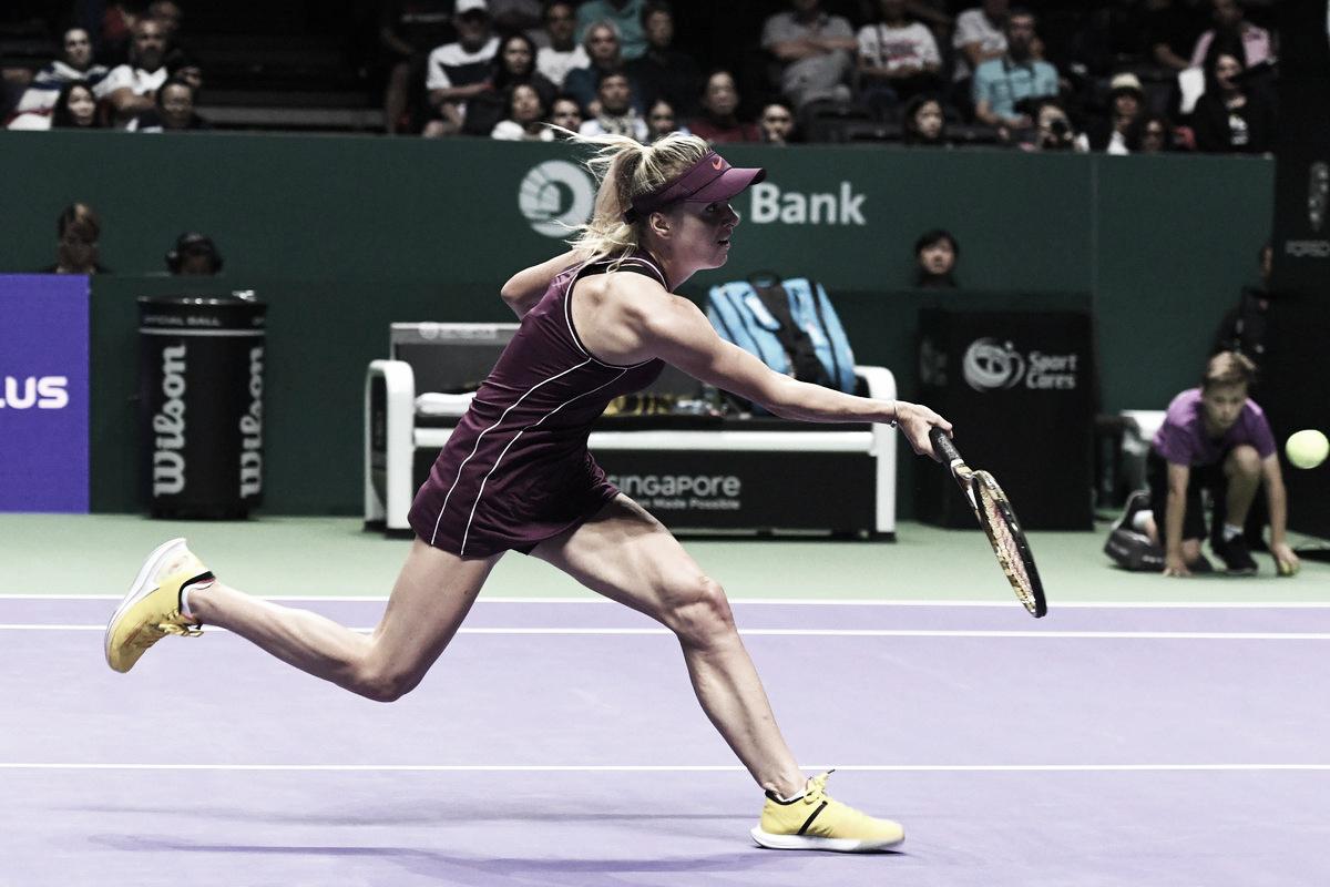 Svitolina bate Pliskova e se aproxima de vaga às semis do WTA Finals