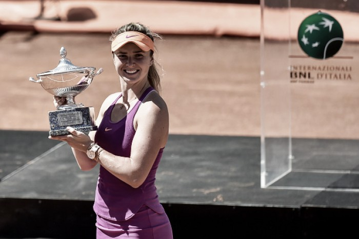 WTA Rome: Elina Svitolina stuns Simona Halep to win her fourth title of 2017