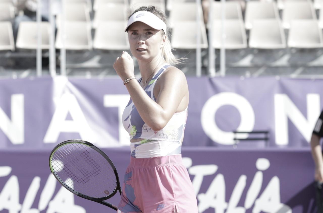 Com ótima atuação, Svitolina supera Teichmann nas quartas em Strasbourg