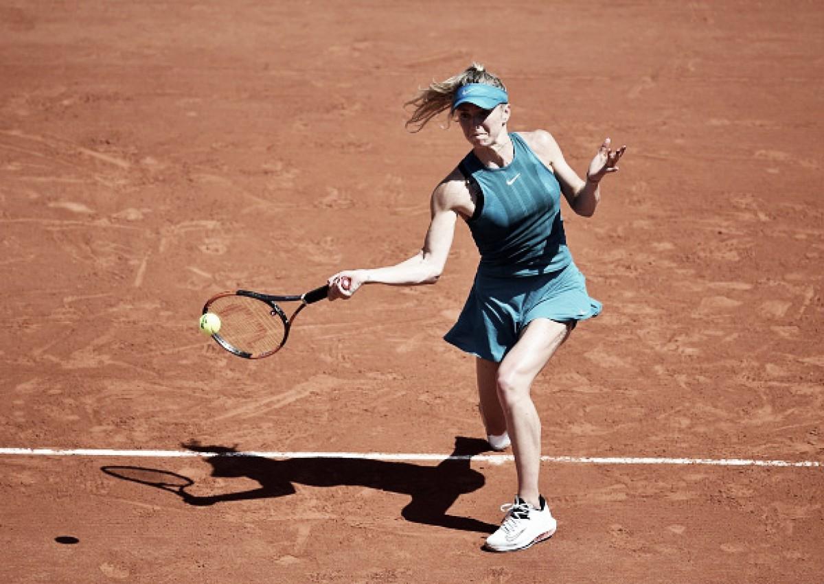 Svitolina supera dificuldade inicial e elimina Tomljanovic na primeira rodada de Roland Garros