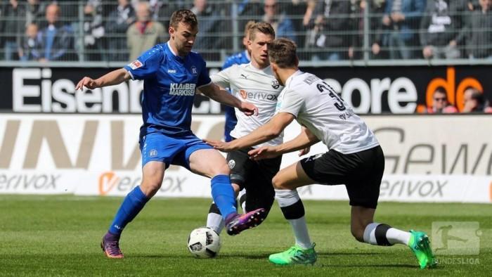 SV Sandhausen 4-0 Karlsruher SC: SVS beat their big neighbours