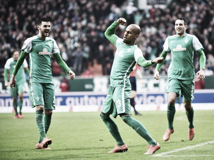 Werder Bremen 4-1 Hannover 96: Pizarro form continues as Bremen move clear of the drop