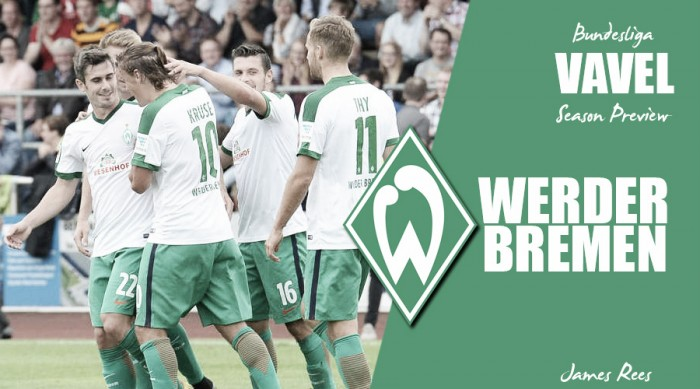 Werder Bremen - Bundesliga 2016-17 Season Preview: Time to take a step in the right direction