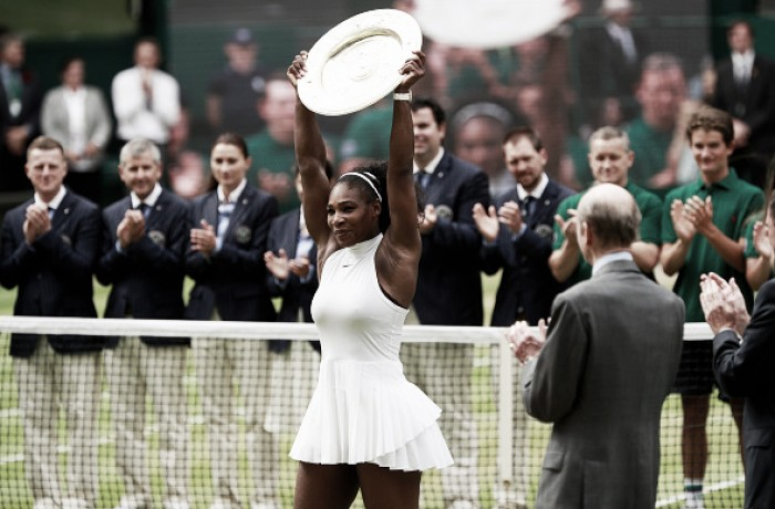 Wimbledon: Serena Williams wins 22nd Grand Slam in high-quality final