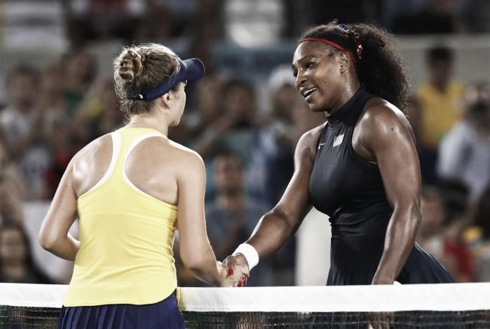 Rio 2016, tennis femminile: eliminate Serena e Muguruza. Errani-Vinci ai quarti in doppio