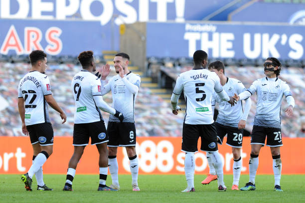 Swansea City 5-1 Nottingham Forest: Grimes double leads the Swans to victory