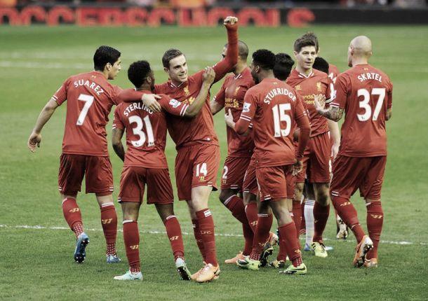 Em jogo eletrizante, Liverpool conquista terceira vitória seguida