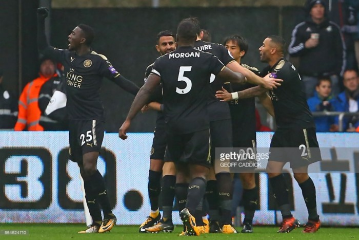 Swansea City 1-2 Leicester City: Foxes clamber away from relegation zone with crucial away win