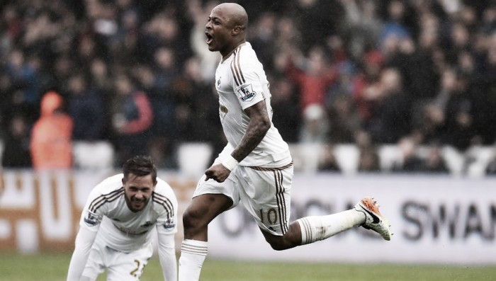 Swansea City 3-1 Liverpool: Swans player ratings as Ayew leaves his mark on proceedings