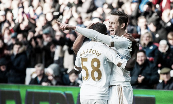 Swansea City 1-0 Norwich City: Gylfi Sigurdsson delivers three key points for Swans
