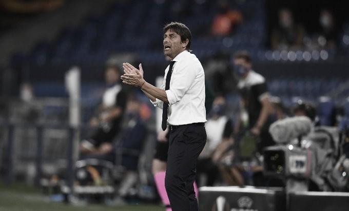 """Após classificação na Liga Europa, Conte destaca foco da Inter: """"Eles querem esta competição"""""""