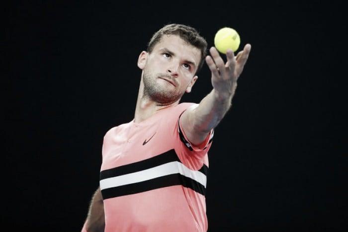 Australian Open: Grigor Dimitrov survives second round scare against Mackenzie McDonald