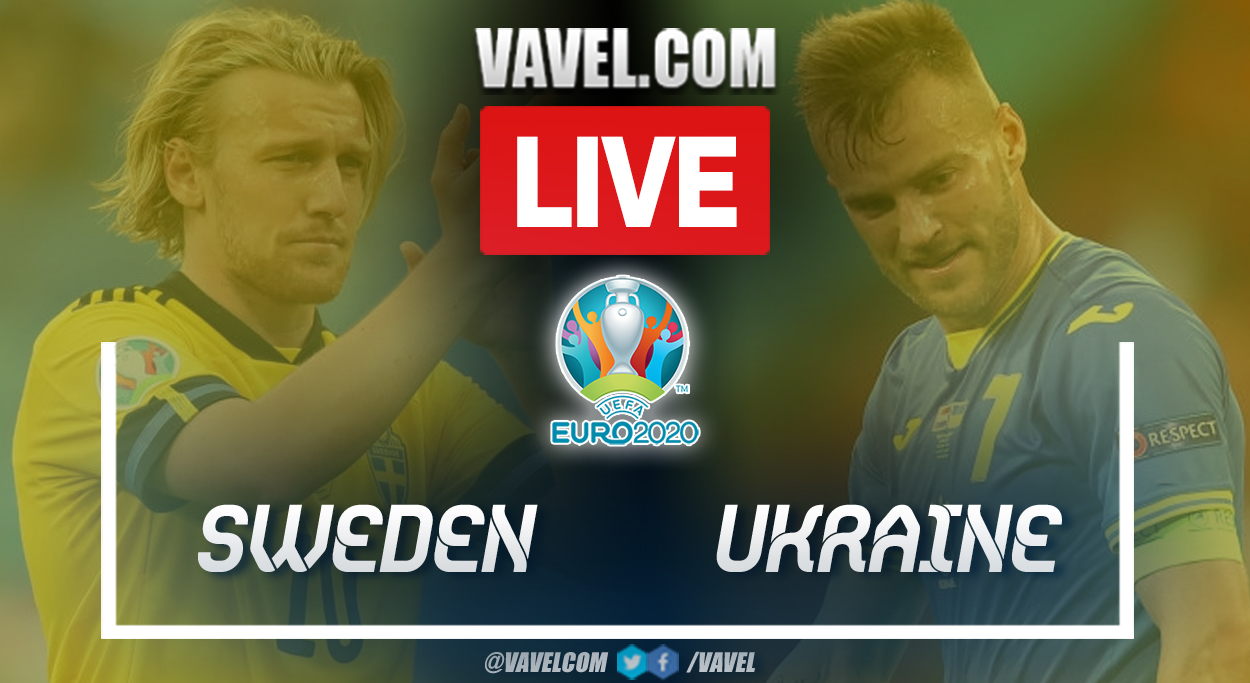 Goals and Highlights: Sweden vs Ukraine in the Euro 2020