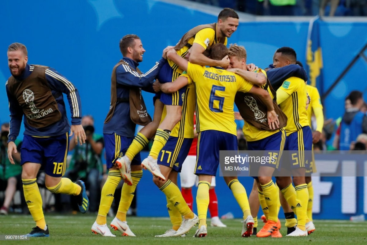 Forsberg shows the way as Sweden progress to the Quarter Final