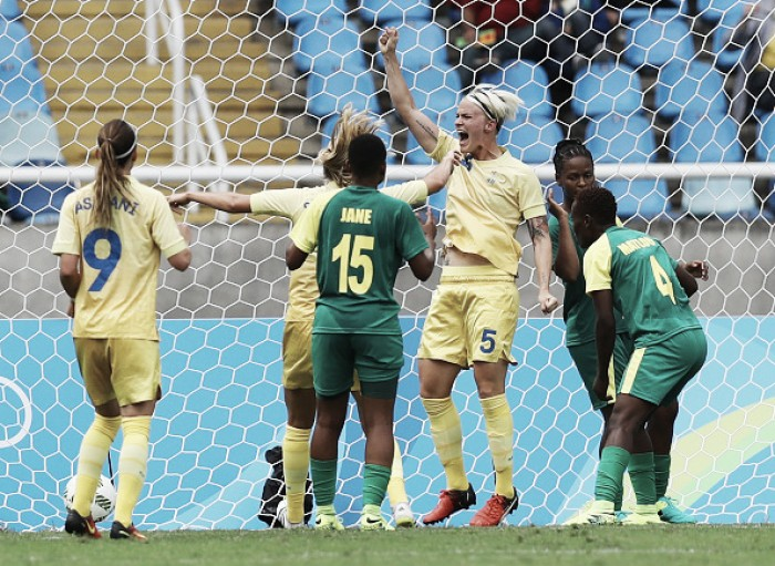 Sweden 1-0 South Africa: Rio Olympics starts with scrappy Swedish win