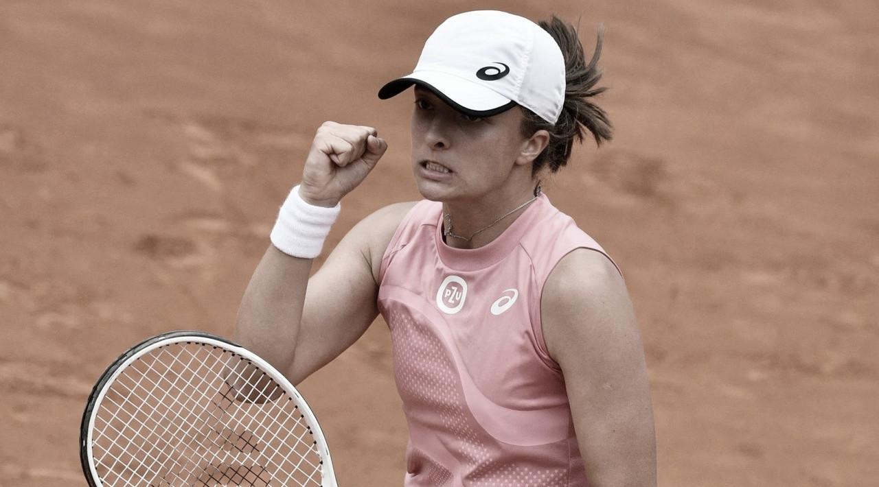Swiatek atropela Pliskova, garante título em Roma e entra no top 10