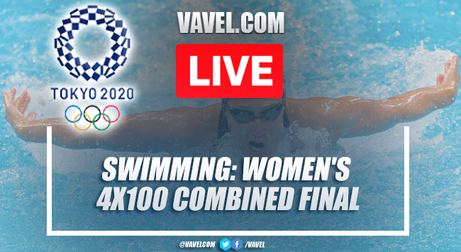 Highlights and Best Moments: Women's 4x100 combined relay swimming in Tokyo 2020