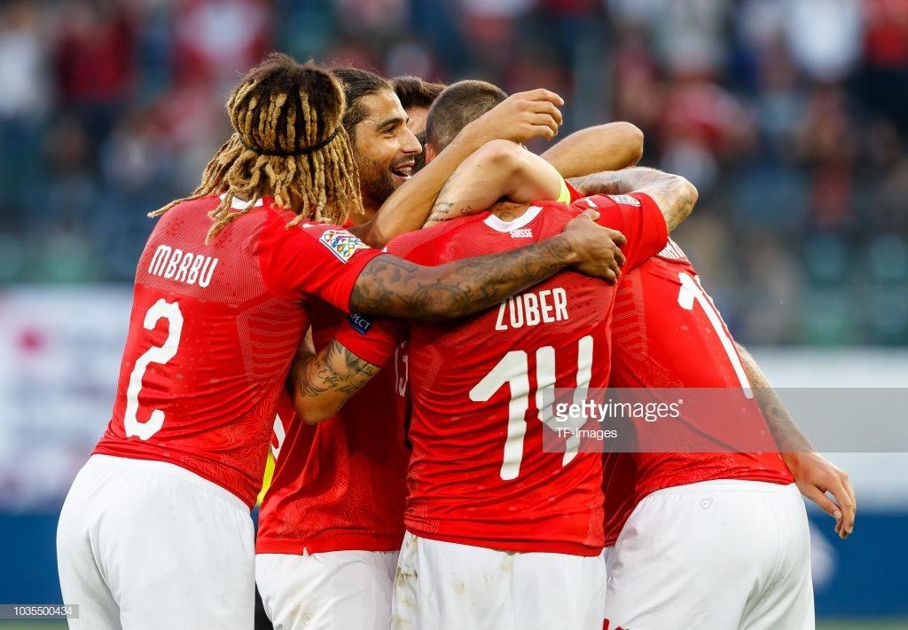 Switzerland 5-2 Belgium: Super Swiss seal top spot