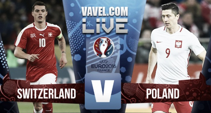 Switzerland 1 (4) - 1 (5) Poland: As it happened