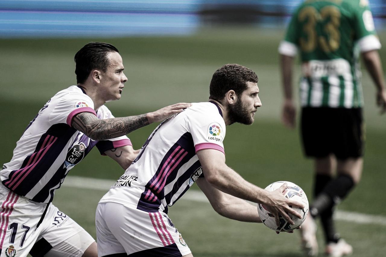Real Valladolid 1-1 Betis: otro empate insuficiente