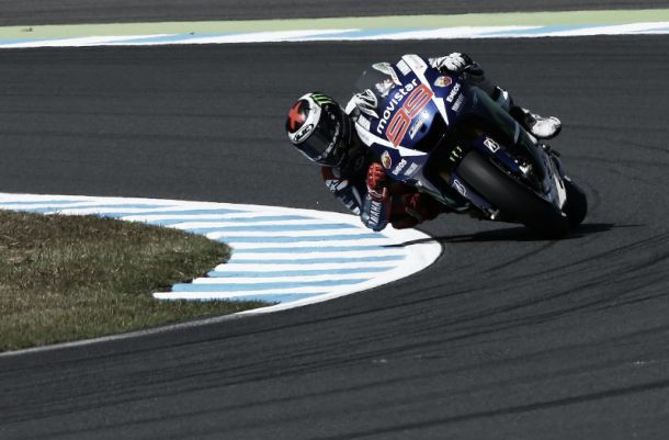 MotoGP, Lorenzo il più rapido anche nel secondo turno di libere a Motegi