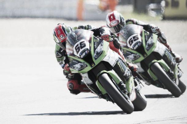 SBK, Donington: Sykes di autorità, sua la vittoria in Gara1