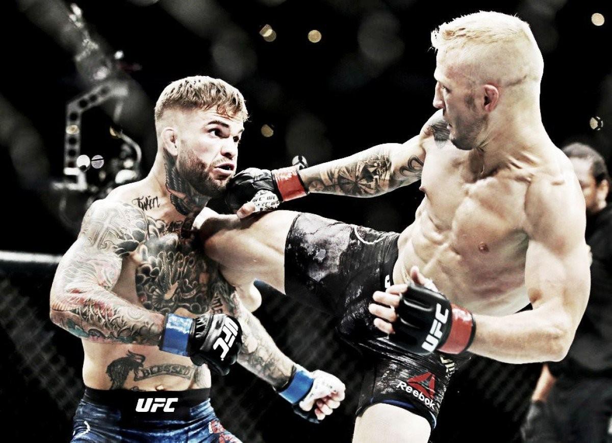 UFC 227: Dillashaw conserve sa ceinture des poids coqs face à Garbrandt son rival