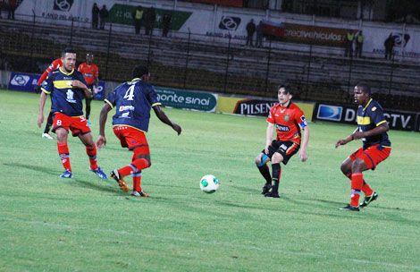 El Nacional se lleva 1 punto del estadio Alejandro Serrano Aguilar