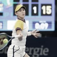 Bencic passa com tranquilidade por Diyas e avança no WTA 250 de Luxemburgo