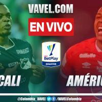 Resumen Cali 0-1 América en la fecha 9 por Liga BetPlay 2021-II